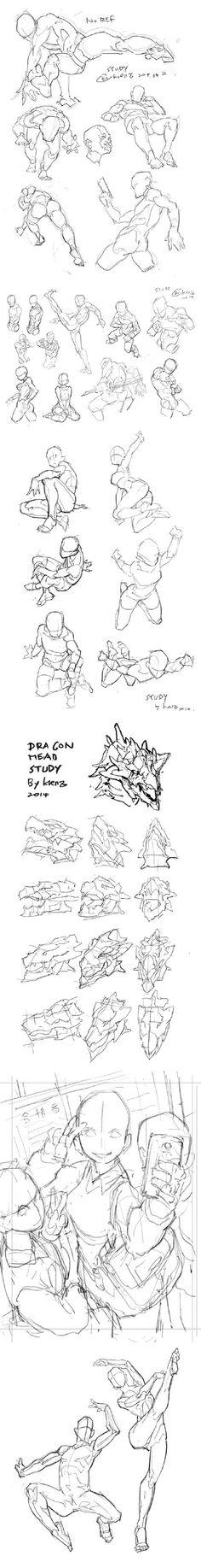 原畫人官方微博:#繪畫參考# @Krenz (id=74646) 是台灣的美術教育家,教授透視、人體等課程。下面是他的一些人體透視研究,帶有簡單易懂的輔助線。可以結合Krenz大大之前發的 輪廓與結構的關聯性http://weibo.com/1926245291/C5XMe5lXB一起看,希望能........... - 微博精選 - 新浪星座算命