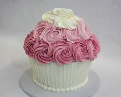 <p>I made the giant cupcake smash cake for my niece's first birthday a few weeks ago. To make the cake I used the Wilton Giant Cupcake Pan. I used my banana cake recipe for the cake, since the birthday girls loves bananas. I put about 2.5 cups of batter in …</p>