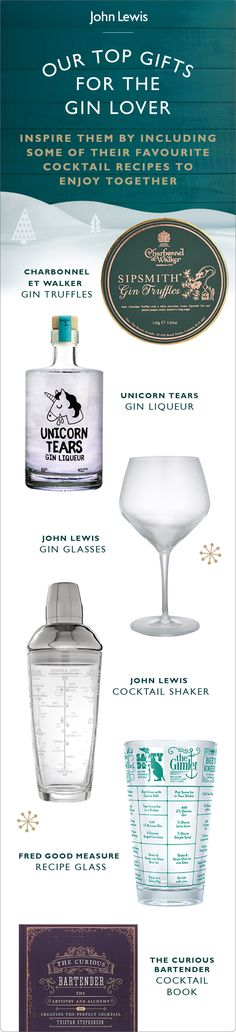 For gin lovers everywhere, treat them to their favourite tipple this Christmas.