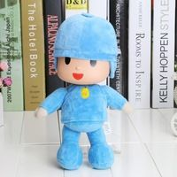 1Piece 10 inches 26 cm Pocoyo plush toy toys Soft Plush Stuffed Figure Toy Doll Children Gifts Kids Toy Free Shipping