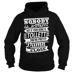 I Love TOLLETT Pretty - Last Name, Surname T-Shirt Shirts & Tees