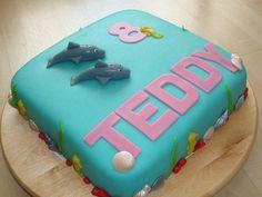 Dolphin birthday cake - Torte per Tutti