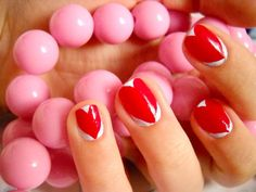 heart #nail #nails #nailart