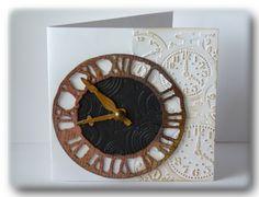 Tim Holtz Weathered Clock Die