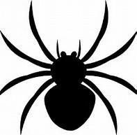 Spider template for Halloween Halloween Decorations For Kids, Halloween Trees, Halloween Spider, Halloween Kids, Spider Costume, Homemade Halloween, Halloween Stuff, Spider Clipart, Spider Template