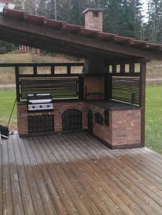Out of doors Kitchen is the easiest way to finish your backyard to entertain and feed your loved ones and buddies. Under you could find on outside kitchen concepts as well as some ideas that may make your patio trendy and enticing, get pleasure from! Outdoor Oven, Outdoor Fire, Outdoor Cooking, Indoor Outdoor, Outdoor Living, Outdoor Decor, Outdoor Gardens, Backyard Kitchen, Summer Kitchen
