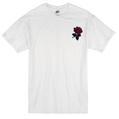 About rose t-shirt from basicteeshops.com This t-shirt is Made To Order, one by one printed so we can control the quality. We use newest DTG Technology