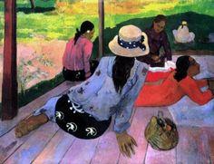 Gauguin: Siesta ¡Me encanta!