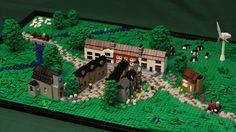 Don't Step On the LEGOs — mylegoblr: Micro Scale English Village