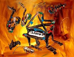 Jazz Painting  -