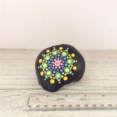 Individually hand painted mandala rock.  221