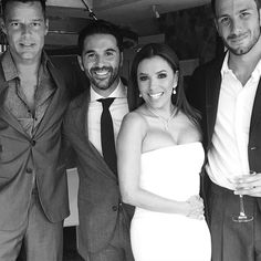 Pin for Later: Let's Celebrate Eva Longoria's First Month of Marriage With a Sweet Throwback to Her Big Day