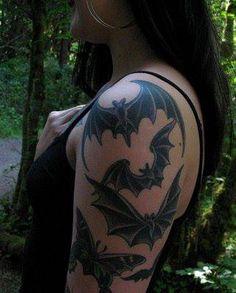 1000 ideas about small fairy tattoos on pinterest fairy for Bat sleeve tattoo