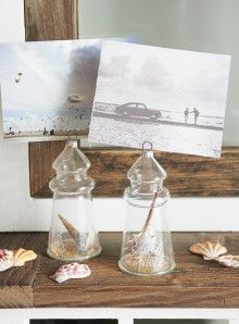 Riviera Maison Life is a Beach Name Card Holder 2 pcs.