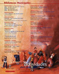 Cartel actividades abril-junio, 2005