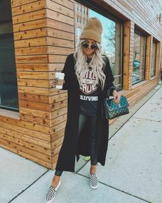 Mom Outfits, Edgy Outfits, Everyday Outfits, Cute Outfits, Fashion Outfits, Womens Fashion, Fall Winter Outfits, Autumn Winter Fashion, Rock Fall Outfits