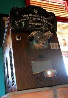 The first frozen margarita machine - 9 Interesting Facts About Margarita Cocktail