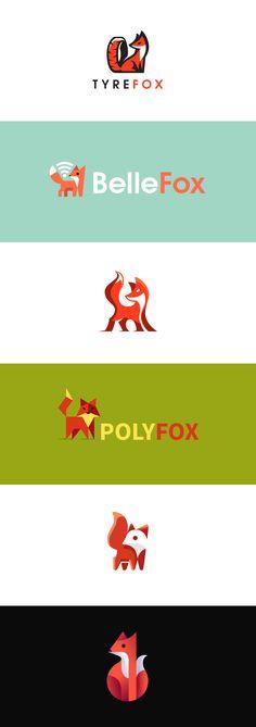 My fox logos from the past years #fox #foxes #logo #logodesign #creative #kreatank #brand #brandidentity #graphic #graphicdesign #design #flat #negativespace #negative #space