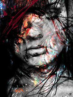 """Saatchi Online Artist yossi kotler; Mixed Media, """"layers peeling"""" #art"""