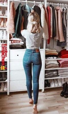 Fall Outfits 2018, Mode Outfits, Summer Outfits, Casual Outfits, Fashion Outfits, Womens Fashion, Casual Jeans, Jeans Fashion, Latest Outfits