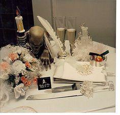 halloween wedding decorations | Gothic Halloween Wedding Decoration Ideas