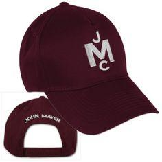 John Mayer 2013 Tour Merchandise | JCM Monogram Hat | Shop the John Mayer Official Store