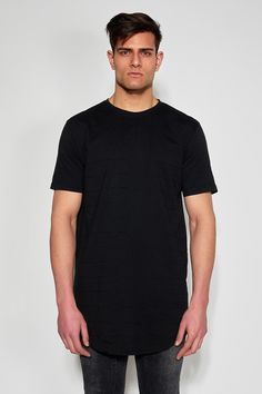 ANTIOCH - BLACK EMBROIDERED T-SHIRT #antioch #fashion #t-shirt #embroidered East London, Trousers, Menswear, Denim, Fabric, Model, Cotton, Mens Tops, T Shirt