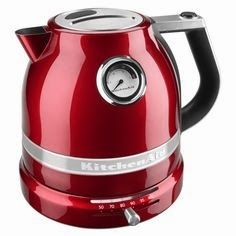 http://teatra.de approved: We have enough kettles but we do like the look of this one: KitchenAid Electric Kettle ~ 40 GENIUS kitchen gadgets