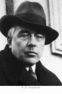 Piotr Demiánovich Ouspenski -