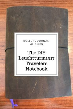 DIY A5 Travelers Notebook Cover – Bullet Journal-Aholics