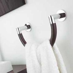 Ginger K2 towel ring Minimalist Bathroom Design, Modern Minimalist, Towel Rings, K2, Bathroom Hooks