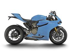 baby blue #ducati 1199 panigale custom color #motorcycles