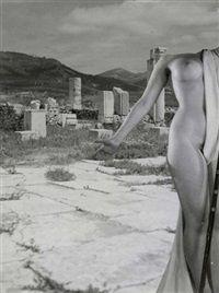 Collage Volubilis, Maroc von Pierre Boucher