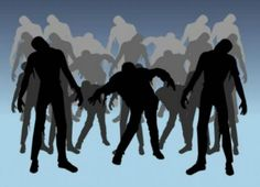 Zombies plus math equals classroom success Zombies and dancing give Perkins students new reasons to be excited about learning geometry Zombie Silhouette, Silhouette Clip Art, Silhouette Projects, Zombie Walk, Zombie Party, Multiple Sclerosis, Vector Art, Graphic Art, Zombies