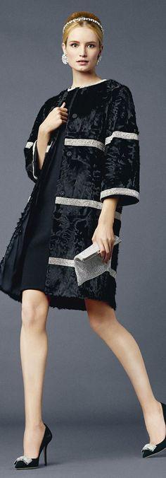 2014 designer labeled runway coats women pinterest | Dolce & Gabbana, Spring/Summer 2014, Dark Blue,