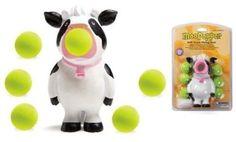 Amazon.com: Hog Wild Toys Moo/Cow Popper: Toys & Games