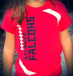 Girls kids youth Atlanta Falcons football tshirts Mommy and me shirts too Game D… – Basic Game Day Shirts Football Spirit, Football Cheer, Custom Football, Youth Football, Football Season, Football Moms, Football Stuff, Baseball, Football Things