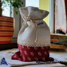 vrecko na bylinky #slovakia Diy And Crafts, Reusable Tote Bags, Decor, Dekoration, Decoration