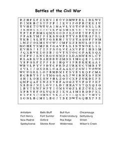 41 best civil war images on pinterest teaching social studies civil war word search printable the cay 10 word merges one word 1 50 ibookread Read Online