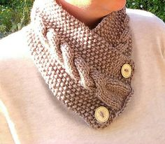 Check out this item in my Etsy shop https://www.etsy.com/uk/listing/473345735/hand-knitted-ladies-cable-cowl-scarf