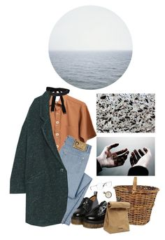 """oceanside"" by paper-freckles ❤ liked on Polyvore featuring D&G, By Zoe, Cybele, Jil Sander and Ray-Ban"