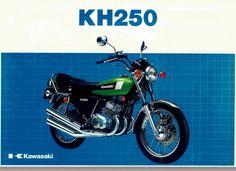 Kawasaki 250 KH motorcycle brochure | Flickr - Photo Sharing!