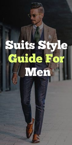 Suits are man's best friend when it's done right but can easily tip over to the other side & become man's worst enemy when done wrong! Men's Suits For 2020 Mens Fashion Blog, Best Mens Fashion, Mens Fashion Suits, Fashion Advice, Mens Suits, Men's Fashion, Fashion Guide, Fashion Bags, Stylish Men