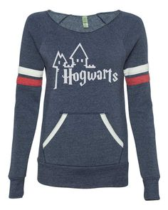 Limited Quantity - Harry Potter inspired Hogwarts school sweater womans sexy open neck off the shoulder sweatshirt by AlisonWunderland14 on Etsy https://www.etsy.com/listing/226616008/limited-quantity-harry-potter-inspired