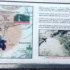 michael collins beal na blath map - Google Search Cork City, Michael Collins, Map, Google Search, Location Map, Maps