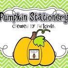 Pumpkin Stationery