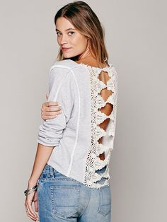 Free People Victorian Lace Pullover, $88.00