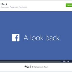 """Facebook Now Lets You Edit Your """"Look Back"""" Movie 