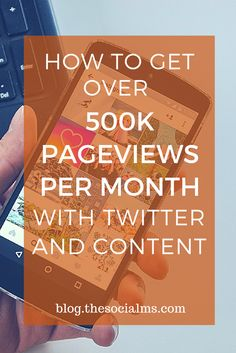 Twitter is perfect to get consistent traffic to your content. Learn the process to grow a Twitter audience and get massive traffic to evergreen content - for free. Traffic generation, blog traffic, get traffic from Twitter, Twitter marketing tips, Twitter