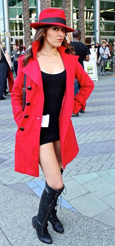 DIY Carmen Sandiego Costume u2014 MEL | Dallas Lifestyle Design and Fashion Blogger | Halloween | Pinterest | Costumes Halloween costumes and Easy diy ...  sc 1 st  Pinterest & DIY Carmen Sandiego Costume u2014 MEL | Dallas Lifestyle Design and ...